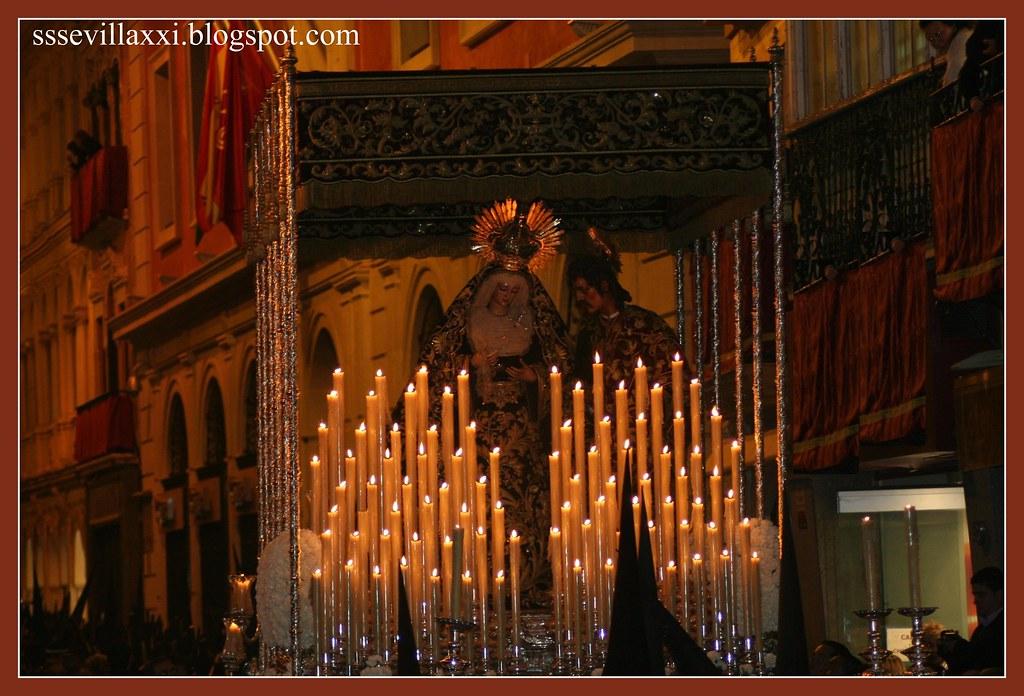 María Santísima del Mayor Dolor y Traspaso, Madrugada del Viernes Santo, 2009