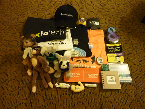 TechEd 2010 - Swag Day 1