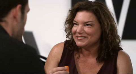 Mindy Cohn is the outrageous Violet in 'Violet Tendencies'.