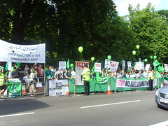 (6) (sabzphoto) Tags: uk people london iran britain crowd protest  iranelection
