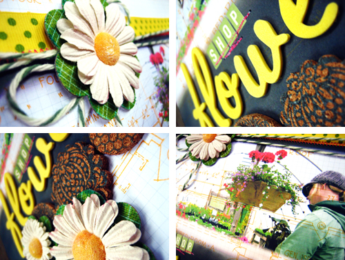 PNA Flower Shop Layout Collage