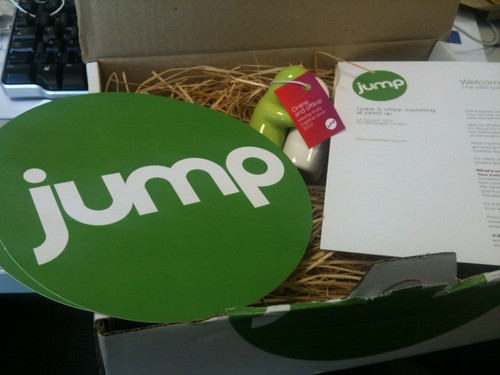 jump invite package photo