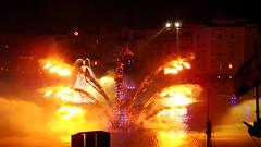 fire (haphopper) Tags: show entertainment themepark tokyodisneysea 2010 tds tdr braviseamo medharbor harborshow