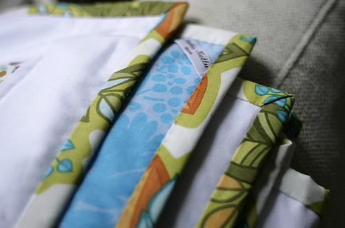 HST quilt binding detail