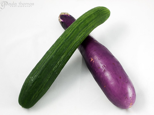 Cucumber and Eggplant