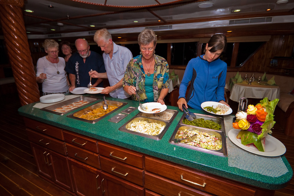 Galapagos Odyssey meals