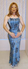 Kathy Leigh Skin Tight Formal Gown (kathyleigh01) Tags: cd crossdressing tgirl transvestite eveninggown transgendered crossdresser tg