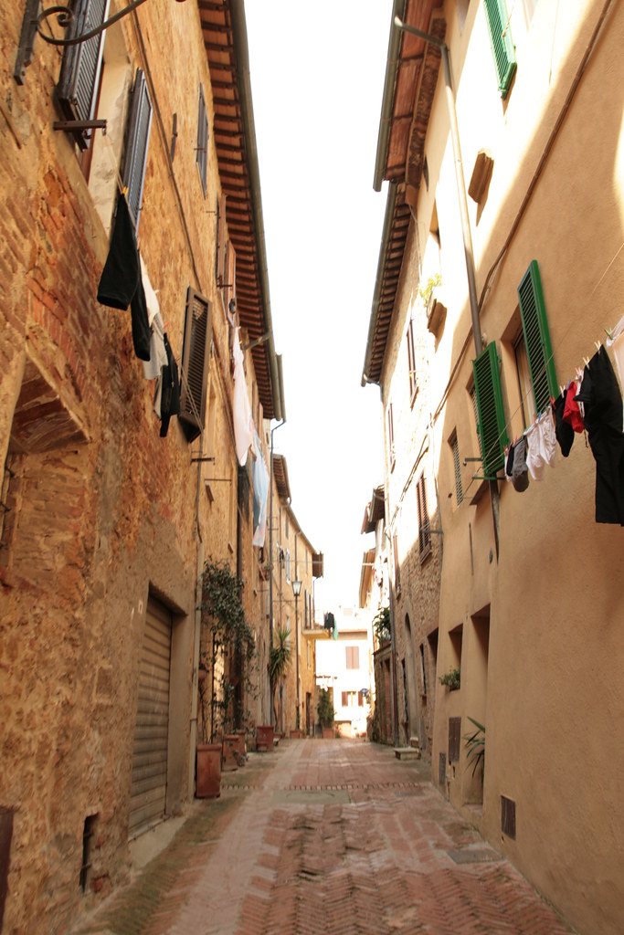 beautiful, little pienza