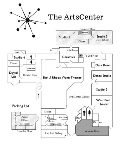 ArtsCenter Map 2010