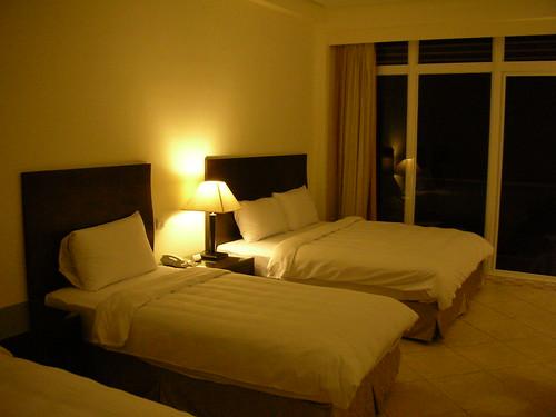 波西塔諾館-家庭房(海景)3樓 一大二小床