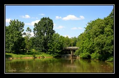 The View (redmann) Tags: bridge trees ontario canada landscape pond view stratford naturesfinest blueribbonwinner thecontinuum sigma18200dc canon400d impressedbeauty favoritegarden
