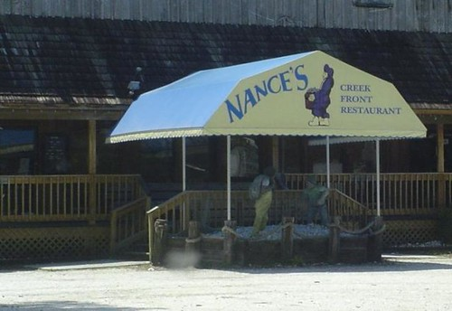 Nance's Creek Front Restaurant in Murell's Inlet