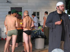 Waiting for Spongeworthy (Brimley) Tags: party drunk fun drinking games gunshow goshen in bacchanal spongeworthy gunshow2007