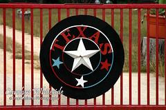 Texas Emblem Gate
