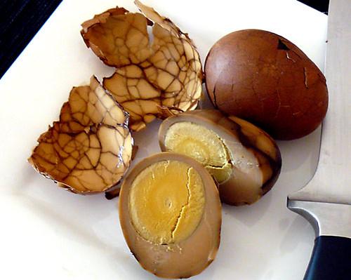 Sliced Tea Egg