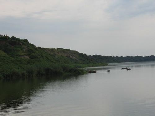 Uganda - QENP Kazinga Channel Boats