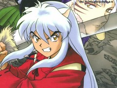 Inuyasha (Cherry.Vanilla2008) Tags: dog souls word four japanese is spirit young manga monk fairy fox demon slayer takahashi period tale inuyasha sengoku meaning jewel yasha rumiko lecherous inu feudal otogi nekomata a naraku zshi halfdemon buddhismrelated