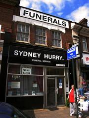 Sydney Hurry, Edgware High Street