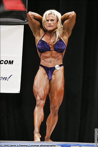 Michelle Neil At The 2007 NPC Nationals Las Vegas