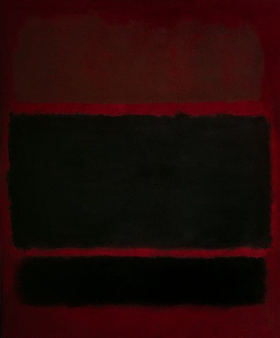 Rothko, Preto sobre marron