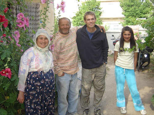 Memeth ,Tuba, su mamá Despidiéndonos de ellos en Uchizar