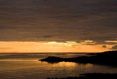 Minch2 (tanera) Tags: sunset skye beach clouds reflections ship minch anywhere waternish wwwtaneracouk httptaneracouk