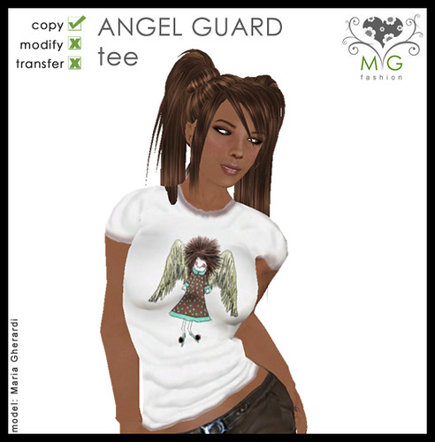 [MG fashion] Angel Guard Tee