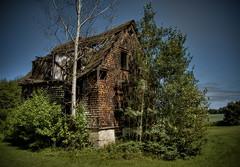 Countdown To Extinction (Michel Filion) Tags: house tree outdoors raw qubec fujifilm hdr valjalbert s6000fd flickrchallengewinner mike9alive michelfilion