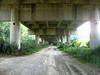 sotto il viadotto