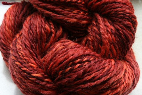 Fire Yarn, Plyed