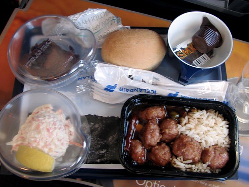 IcelandAir food. Bleah.