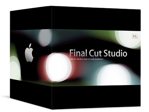 Caja de Final Cut Studio de Apple