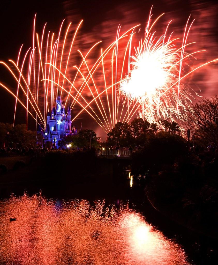 Electric Skies over Disney