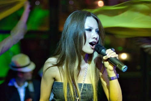 Hannah Tan at Mardi Gras