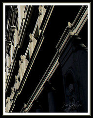 What's The Angle? (Jerri Johnson (away)) Tags: street light italy sculpture building window statue architecture florence bravo italia angle pillar olympus ledge firenze portal column pritzker awesomeshot 10faves anawesomeshot superbmasterpiece ysplix