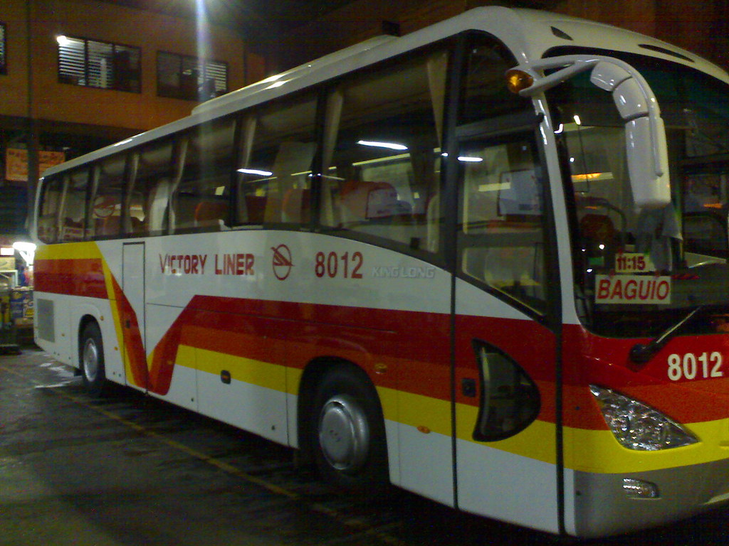 victory liner kinglong unit 8000 series  - de luxe