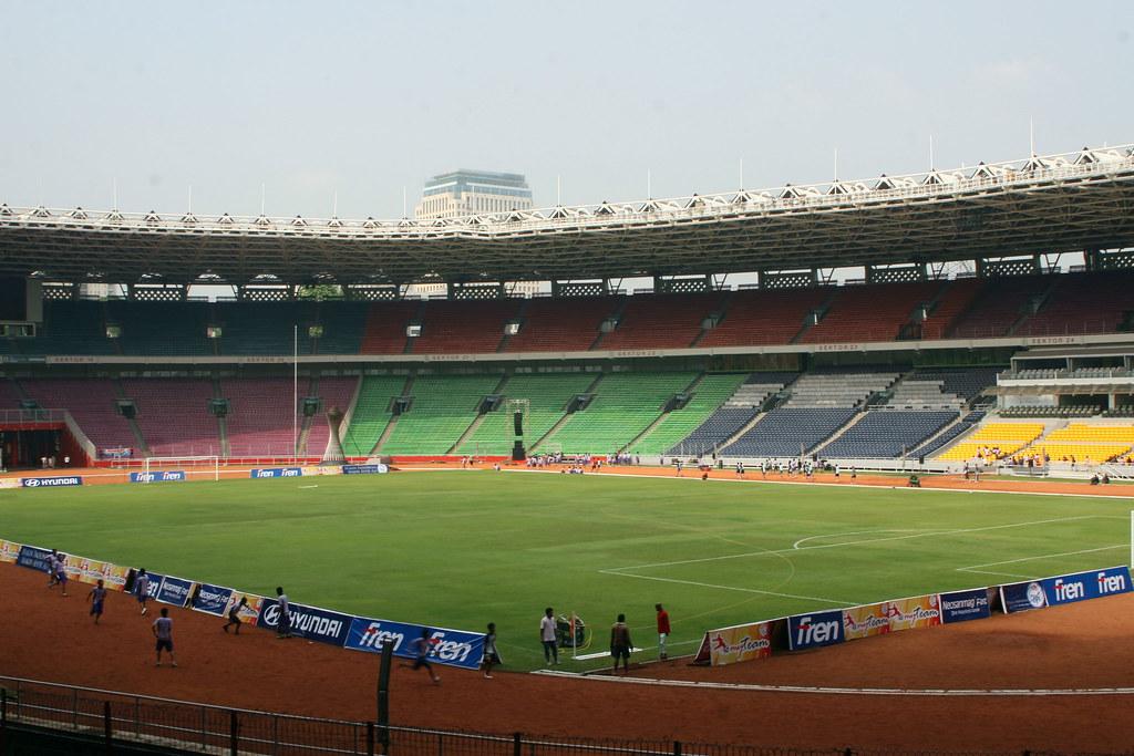 Jakarta International Stadium Image: Stadion Utama Gelora Bung Karno / Utama Senayan