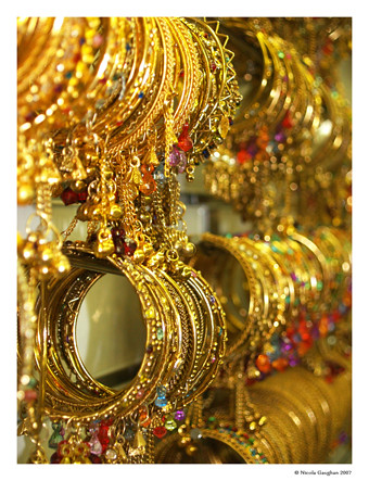 Gold bangles in Southall