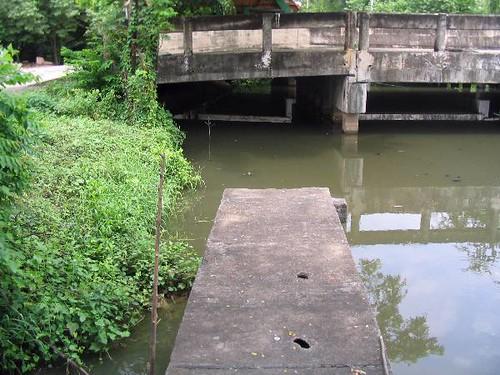 Klong Banma Footpath ends