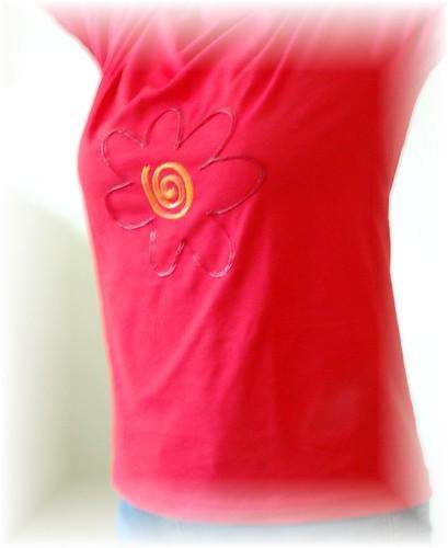 T-shirt Flor #2