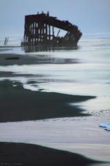 Shipwreck (Laura A Knauth) Tags: ocean statepark park usa beach oregon canon photography state fort shoreline stevens peter shipwreck shore astoria wreck fortstevens peteriredale iredale fortstevensstatepark canon50d lauraknauth lyteray