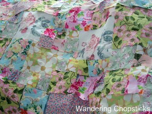 Frowsy Flowery Quilt 10