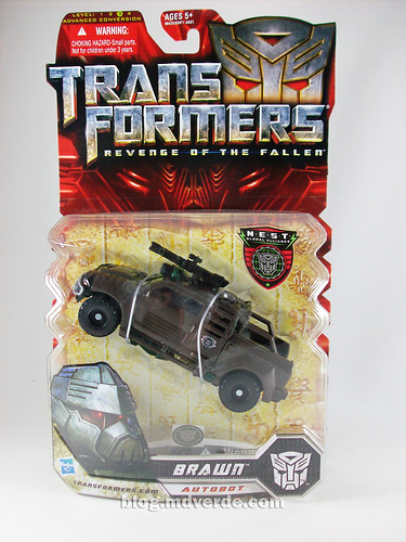 Transformers Brawn RotF NEST Deluxe - caja