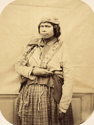 Mi'kmaq woman on board the French naval vessel Sesostris, in the Sydney area, Nova Scotia, 1859 / Femme micmaque à bord du navire militaire français, le Sesostris, dans la région de Sydney, Nouvelle-Écosse, 1859