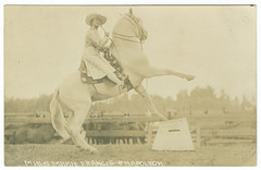 Miss Mamie Francis & Napoleon (SMU Central University Libraries) Tags: napoleon cowgirls uswest throwbackthursday mamiefrancis mamiefrancisskepperhafley18861950
