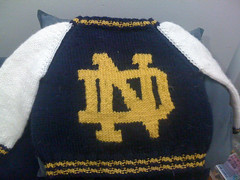 Notre Dame sweater
