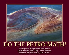 d BP petroleum math