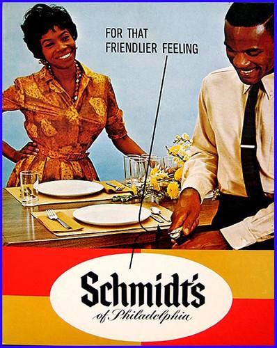 Beer In Ads #126: Schmidt's For That Friendlier Feeling ...