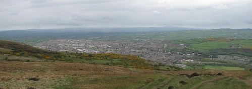 Newtownabbey and Glengormly from the Cavehill