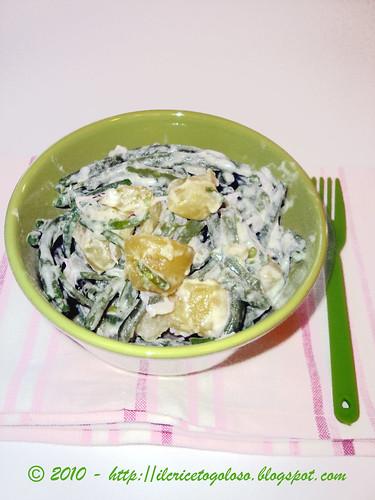 Insalata di fagiolini e patate